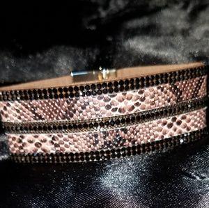 ❤SALE! Leather(PU) magnetic clasp bracelet